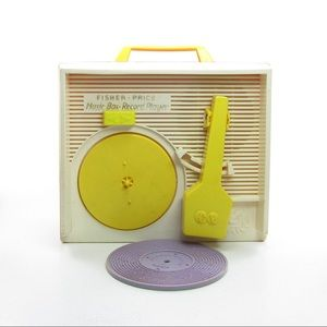 Fisher Price Record Player 1971 Vintage Music Box